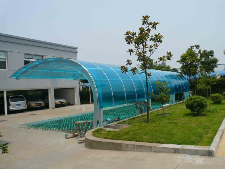 【上海雨棚】雨棚按面板材料划分种类