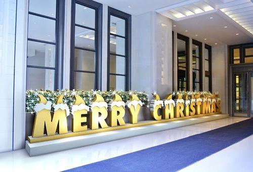 永新广场 圣诞布置