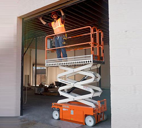 电动土板剪叉式升降机