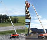 伸缩直臂式高空作业平台
