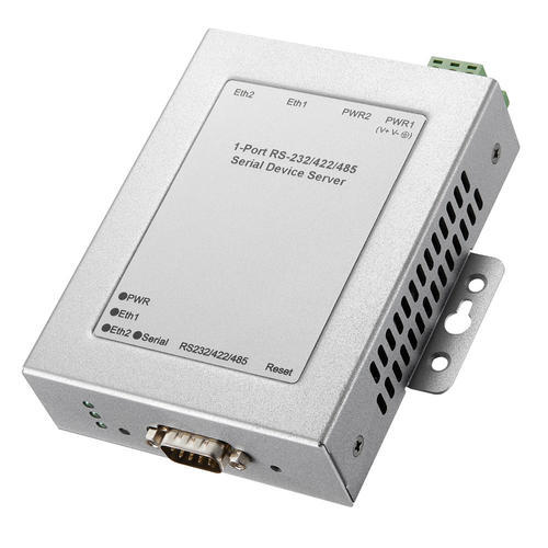JetPort 5601 工业级1个RS-232/422/485串口转冗余双网口设备联网服务器