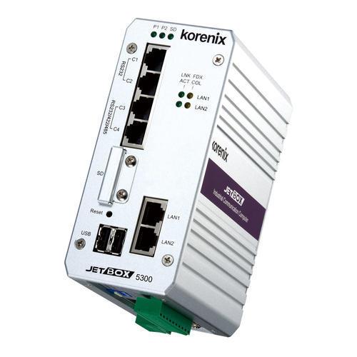 JetBox 5300-w 嵌入式2 LAN & 4 串口 Linux计算机
