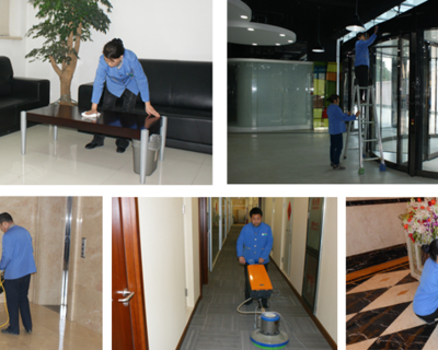 公司常年定期托管保洁-**的服务质量