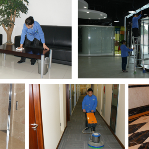 公司常年定期托管保洁-一流的服务质量