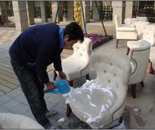 沙发清洗- 保证质量 , 布艺沙发污渍处理