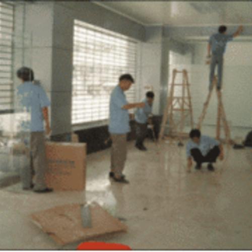 商场保洁-专业化管理人员和清洁人员
