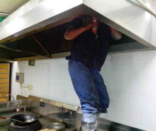 油烟清洗-高效率更放心 , 专业施工团队
