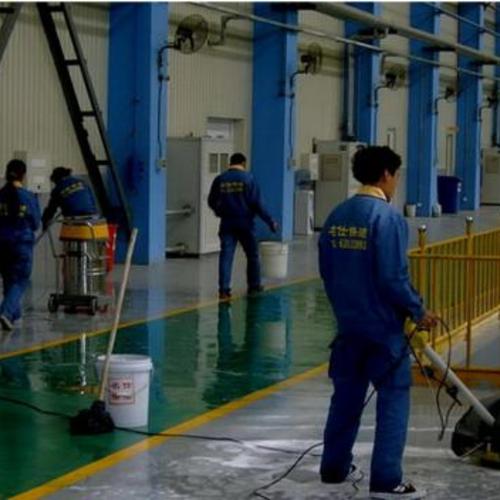 工厂保洁-提供专业的地面清洁方案