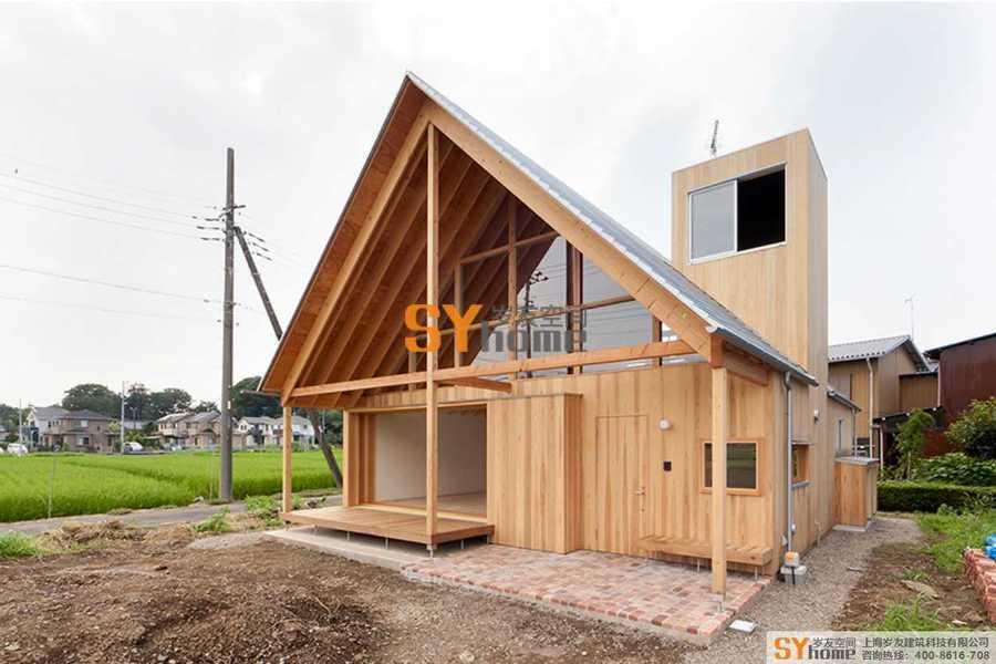 木结构/钢木结构房屋产品案例-专辑1