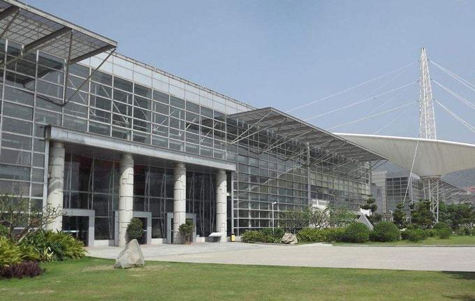 厦门图书馆外墙玻璃