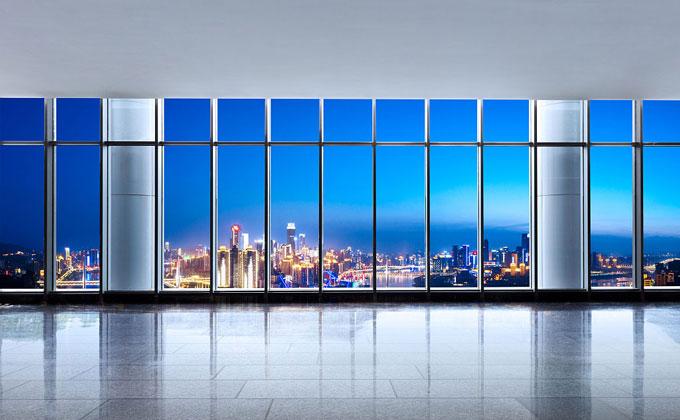 能膜建筑玻璃膜夜景系列