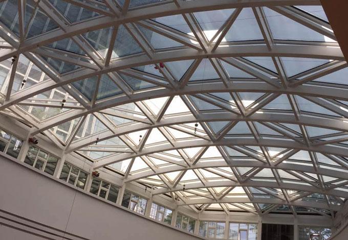 福州爱琴海购物中心天顶玻璃