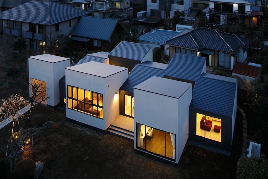 日本,跳房子住宅