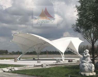 内蒙古科尔沁右翼前旗萨克图公园膜结构工程