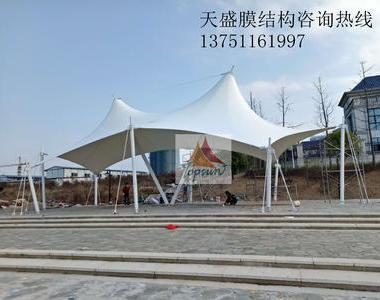 江西九江武宁艺邦山水城膜结构工程