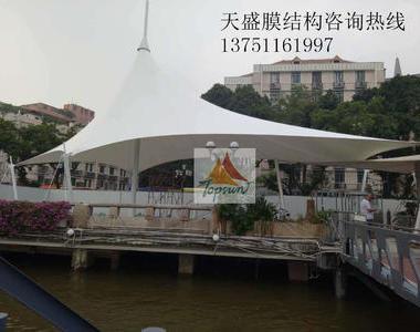 广州西提码头景观膜结构工程