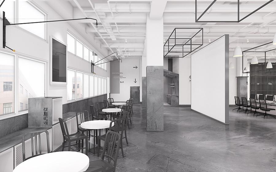 【上海办公室装修】工业风格办公室设计理念
