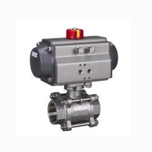 Q611F/H气动三片式球阀