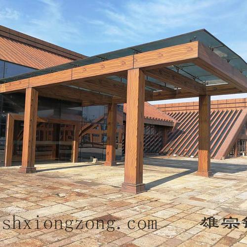 松江钢结构雨棚