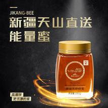 新疆濟康天山直送能量蜜天然健康黑蜂蜂蜜 玻璃瓶單瓶裝250g
