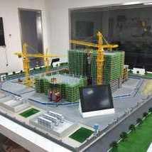 建筑施工場景模型