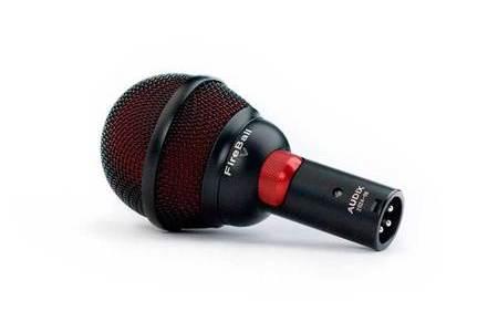 Audix Fireball口琴話筒的優勢