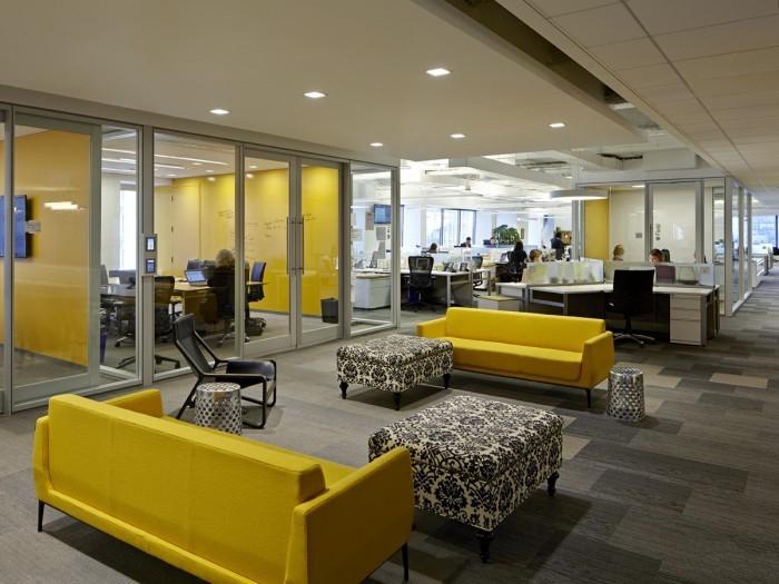 【上海办公室装修】办公室设计可以向家居设计靠拢