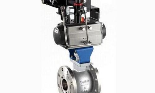 Q641F/P/H/Y气动V型调节球阀