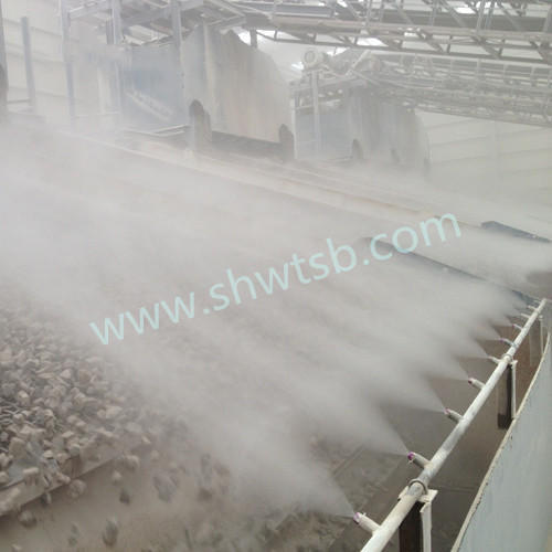 石料筛 振动筛喷雾