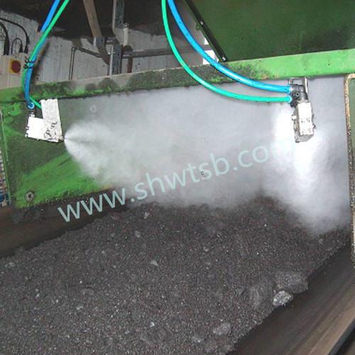 传送皮带运输喷雾降尘
