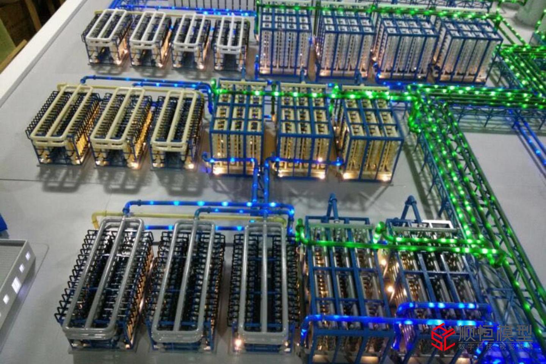 工業工廠生產流程沙盤