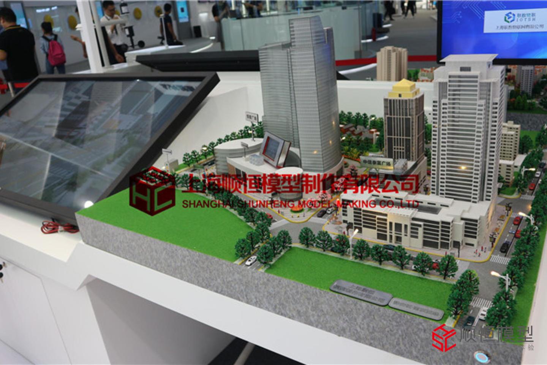 2018上海人工智能大會智慧城市沙盤
