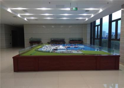 青岛船厂沙盘模型