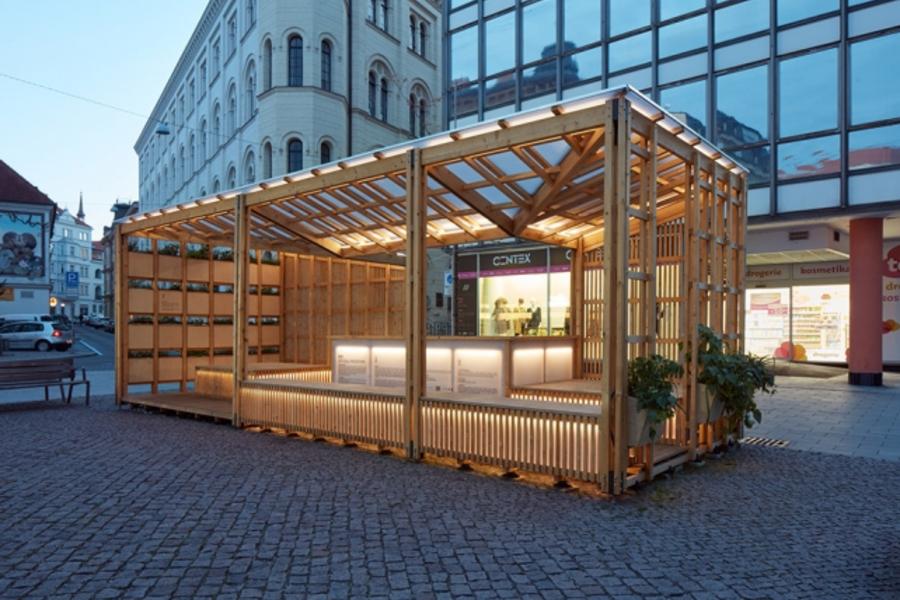 城市蜂巢,改變城市微氣候,治理雨水的綜合體