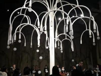網紅泡泡樹出租出售 創意煙霧泡泡樹制作 一棵會吐泡泡的神奇之樹