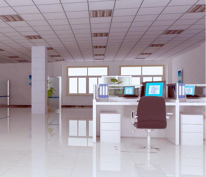 【上海办公室装修】办公室装修风格简约不是东拼西凑