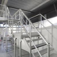 楼梯和平台
