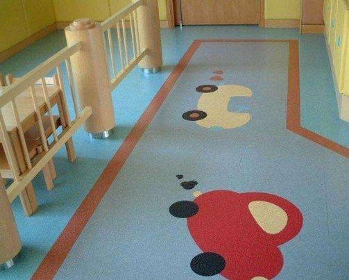 塑胶地板特点
