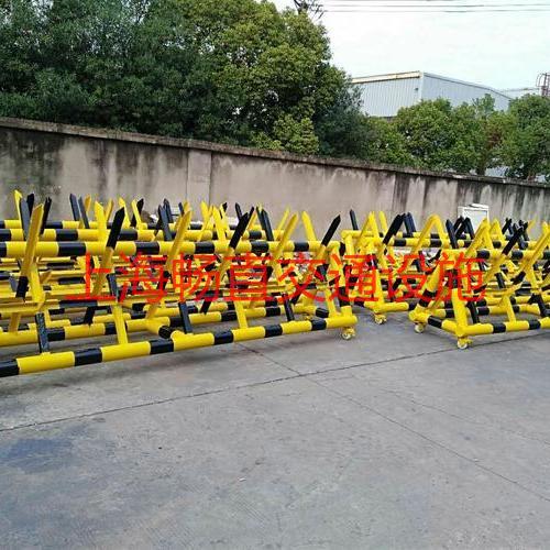 部队移动路障拒马 派出所门口拦车拒马 上海拒马生产厂家 拒马规格 拒马尺寸