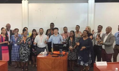 "Lemen Group Inbound Delegation - South Africa EMBA ""China One Belt and One Road Strategy"" college tour successfully completed!"