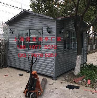 PVC挂板岗亭-008