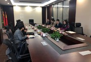 上海找油信息科技有限公司CEO吕健一行莅临井汇集团交流指导