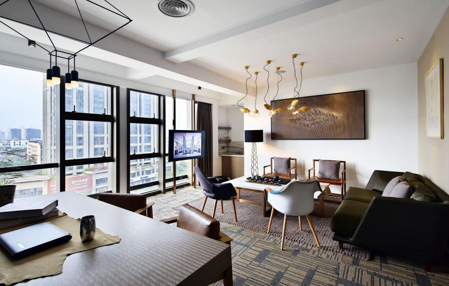 「上海办公室装修」办公家具的布置设计合理性