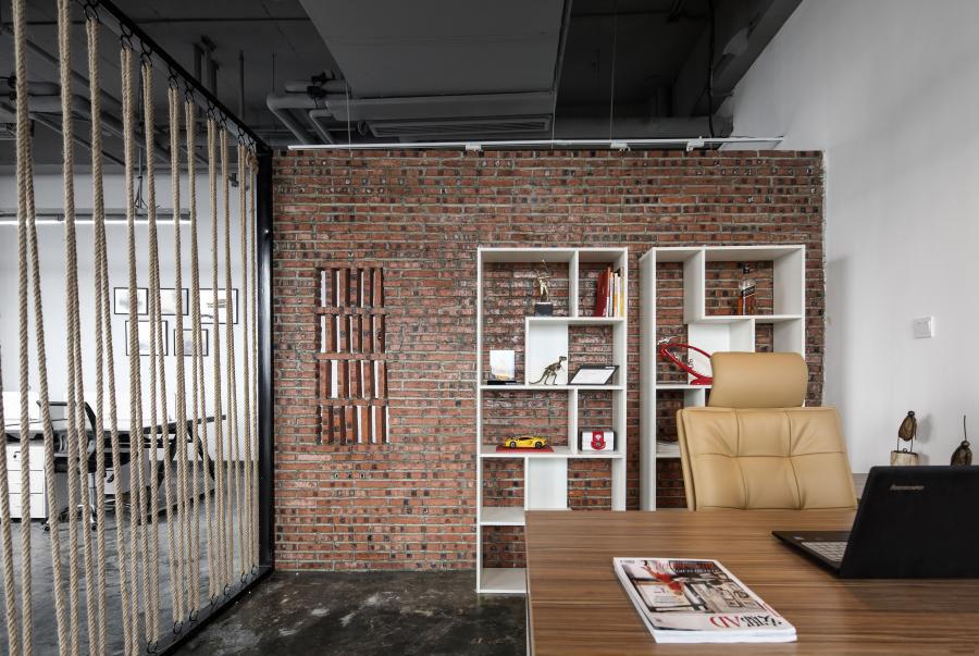 「上海办公室装修」人对色彩的和谐有着本能的需求