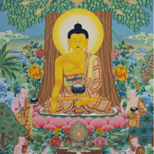 唐卡 释迦牟尼佛