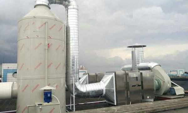 喷漆废气处理系统工程案例