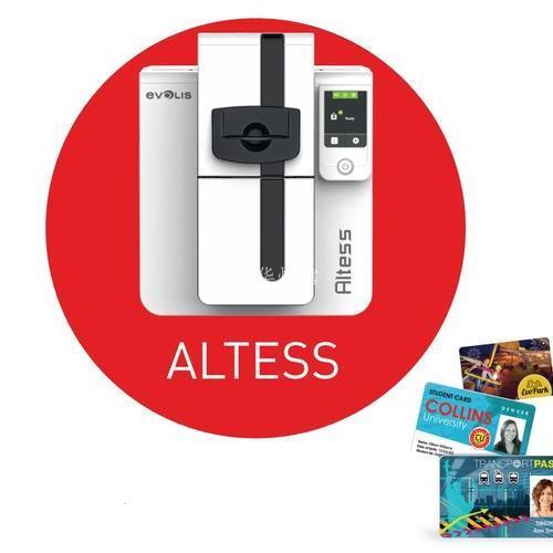 Altess项目自助终端证卡打印机