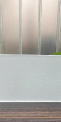 超白玻U型玻璃(满天星玉砂)