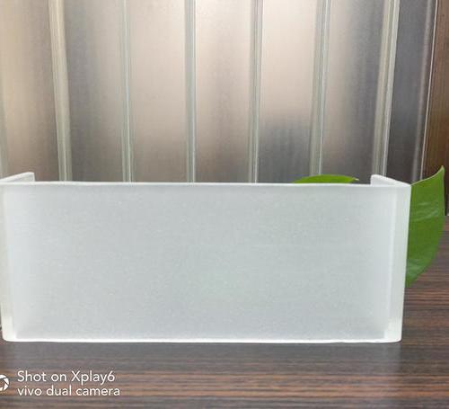 超白玻U型玻璃(滿天星玉砂)