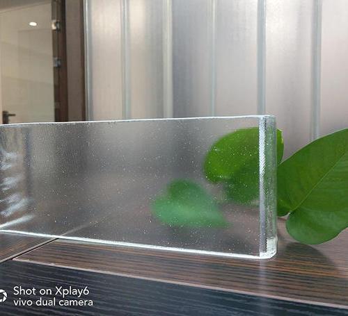 超白玻U型玻璃(满天星)